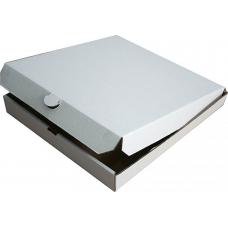 Коробка для ПИЦЦЫ 400*400*40 (белая)\50