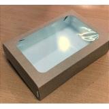 Коробка с окном 170*115*45 (Крафт)\50
