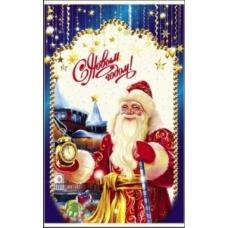 Пакет фольгированный для Новогодних подарков 25*40